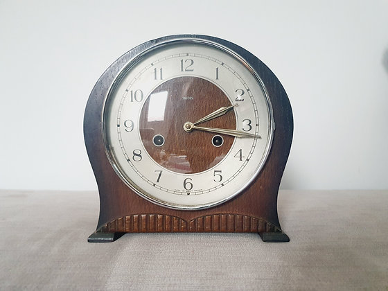 Smiths Wooden Mantel Clock
