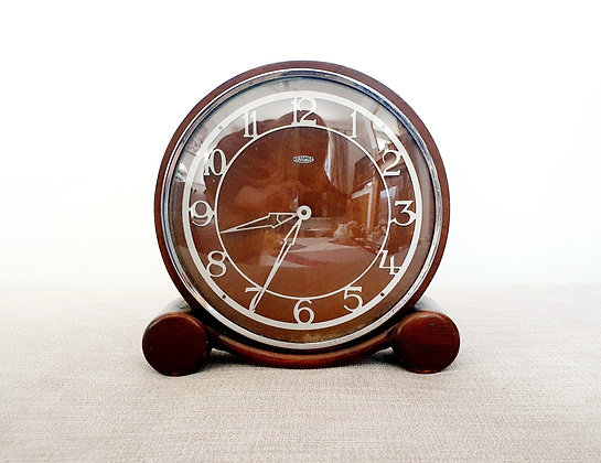 Metamec Wooden Clock