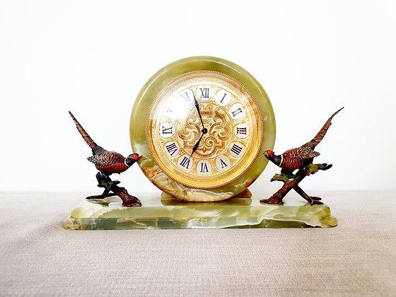 Elsinor Marble Mantel Clock