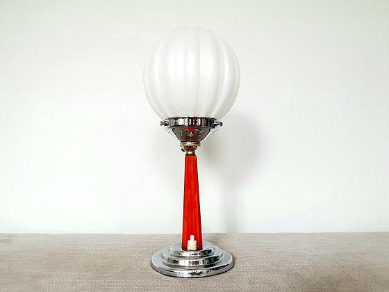 Butterscotch Catalin Lamp