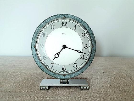 Chrome Circular 8 Day Clock