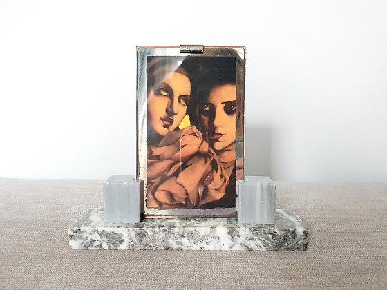 Grey Marble Photo Frame