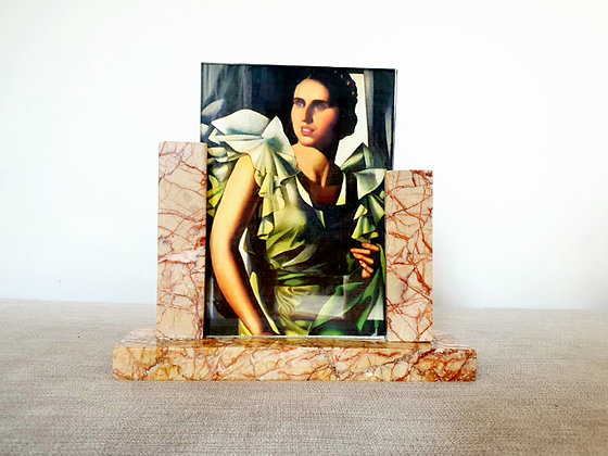 Art Deco Marble Photo Frame 1930s for sale UK