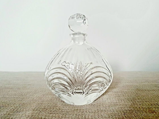 Moulded Glass Perfume Bottle