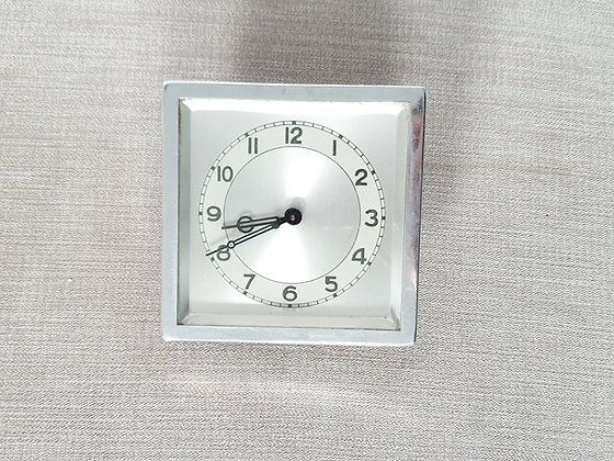 Chrome Bedside Clock