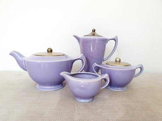 Art Deco Clews Chameleon Ware Tea Set