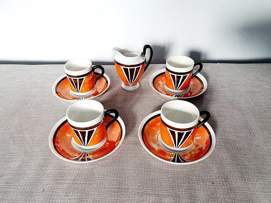 Czech Phoenix Ware Tea Set