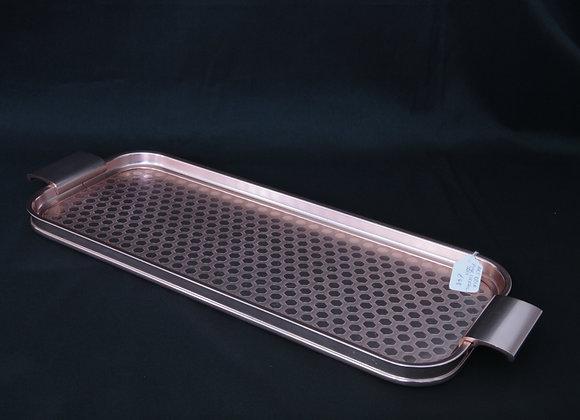 Pink Aluminium Cocktail Tray