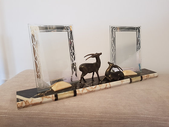 Gazelle Double Photo Frame