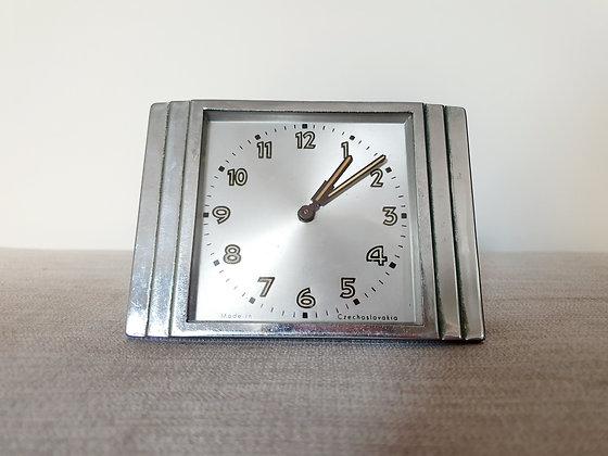 Chrome Desk Clock