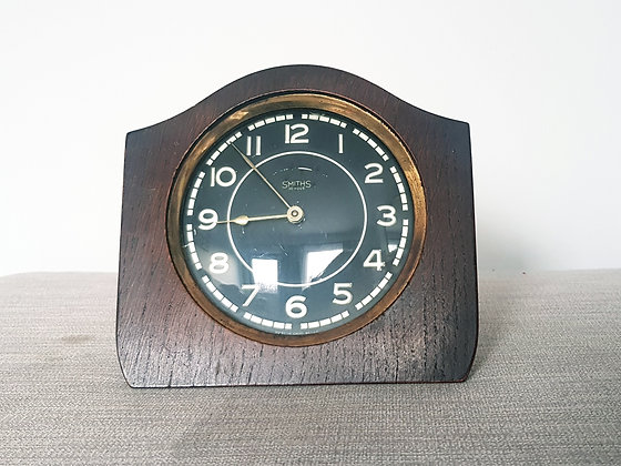 Smiths Wooden Clock
