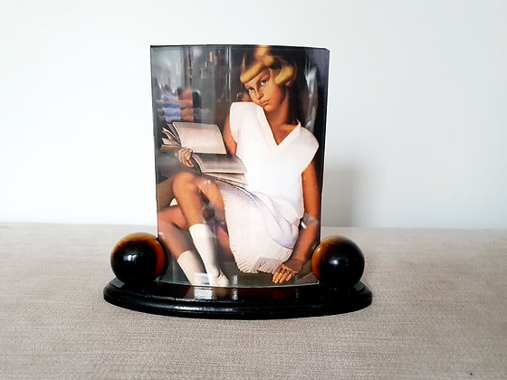 Wooden Curved Photo Frame
