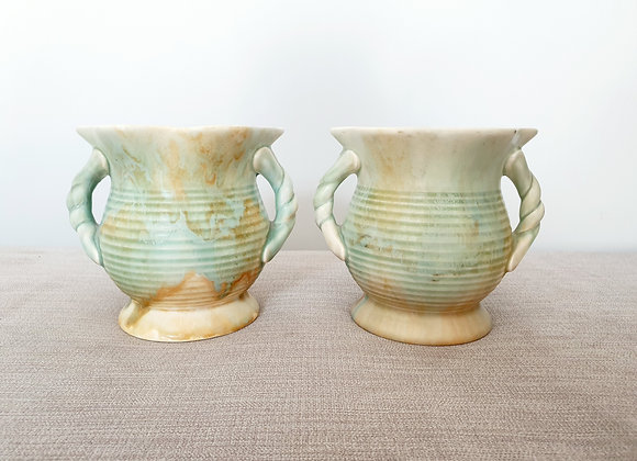 Pair of Dripware Jugs