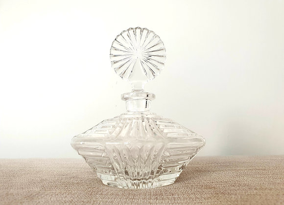 Circular Glass Perfume Bottle
