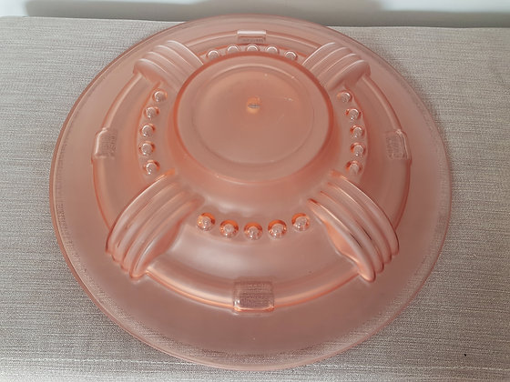 Pink Glass Ceiling Light Shade
