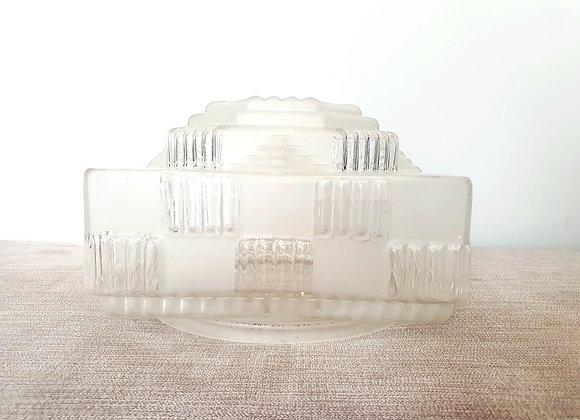 Art Deco Glass Ceiling Light Shade
