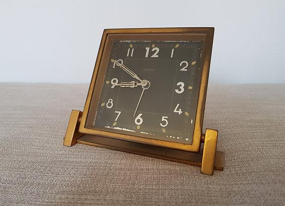 Bayard Brass Reclining Clock