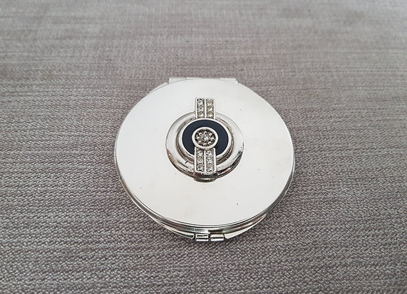 Art Deco Style Mirror Compact
