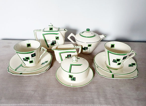 Empire Ware Tea & Coffee Set