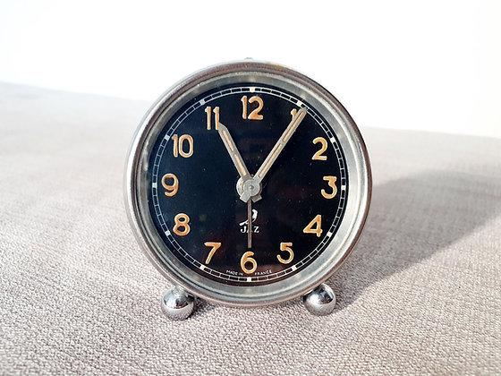 Jaz Small Chrome Alarm Clock