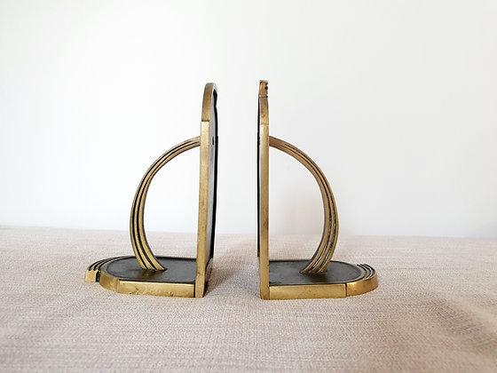 Walter Bosse Brass Bookends