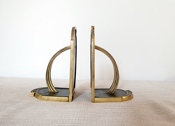 Walter Bosse Brass Bookends