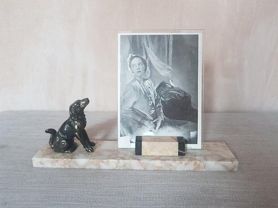 Dog Marble Photo Frame