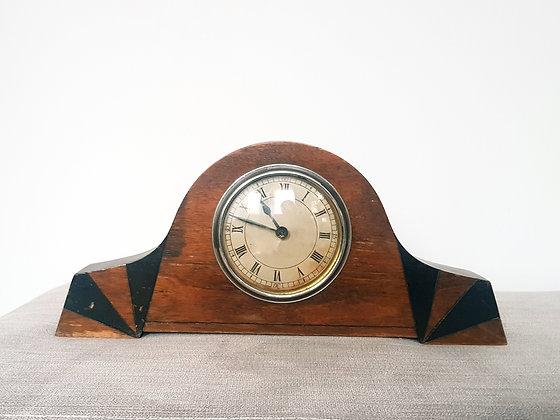Black Banded Mantle Clock