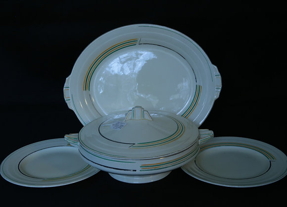 Grindley Art Deco Tureen and Plates