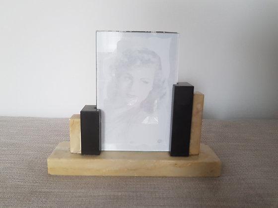 Asymmetric Marble Photo Frame