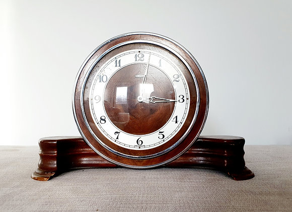 Metamec Wooden Mantel Clock