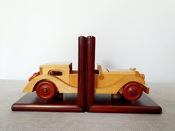 Bugatti Royale Wooden Bookends