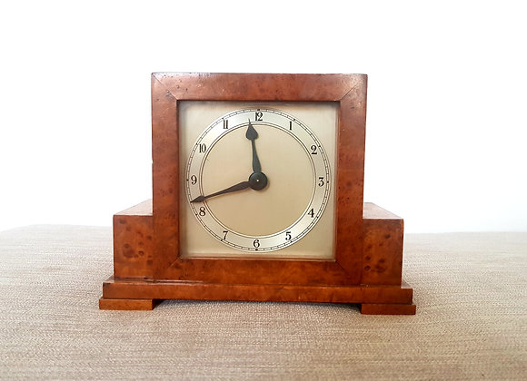 Mercer Walnut Mantle Clock