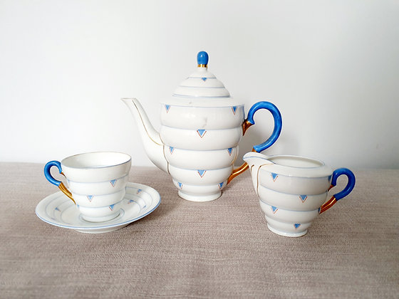Czechoslovakian Tea Set for One