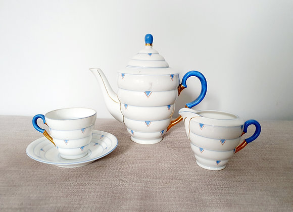 Czechoslovakian Tea Set for One