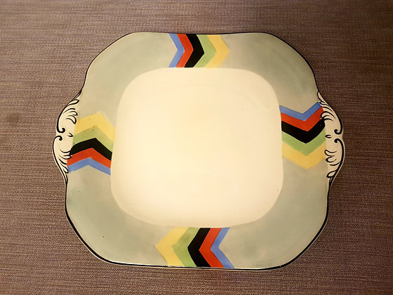 Bursley Ware Plate