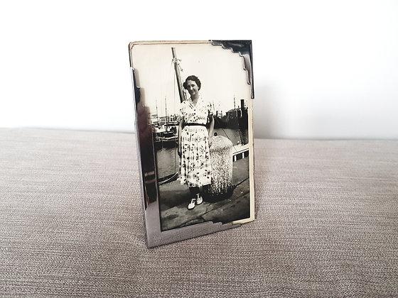 Chrome Plated Photo Frame