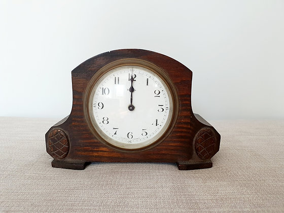 French Enamel Dial Clock
