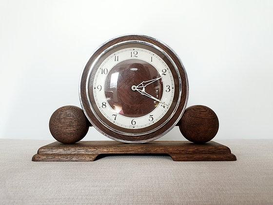 Metamec Wooden Mantel Clock