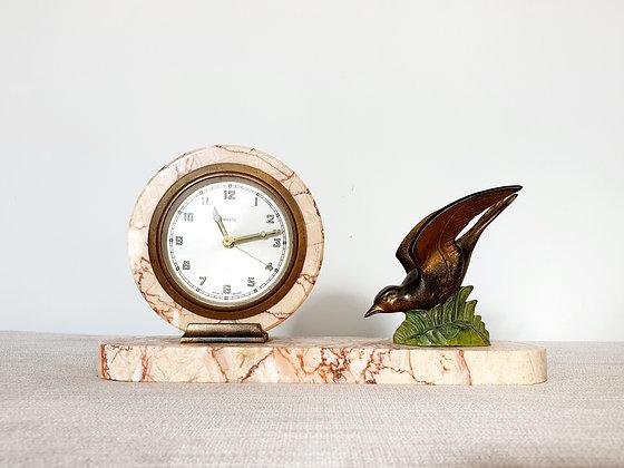 Marpa Swallow Marble Clock