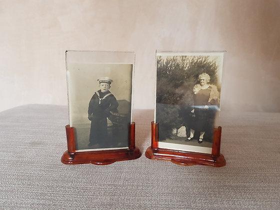 Pair of Miniature Photo Frames