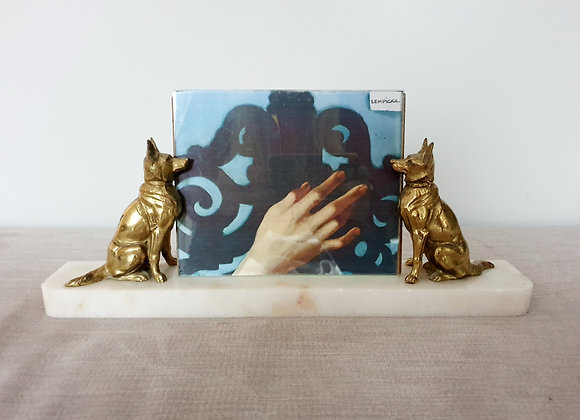 Alsatian Marble Photo Frame