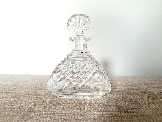 Fan Top Glass Perfume Bottle