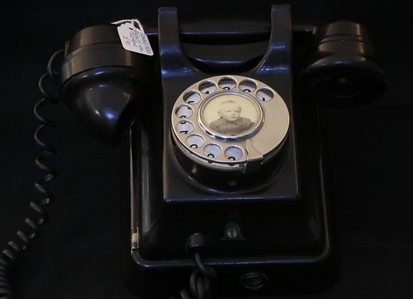 Bakelite Wall Telephone