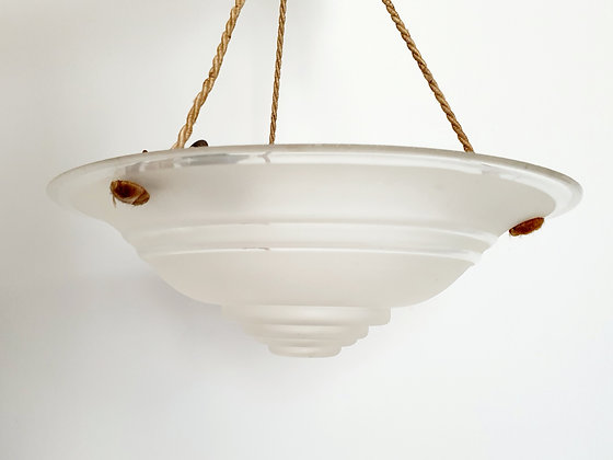 Clear Frosted Glass Ceiling Light Shade