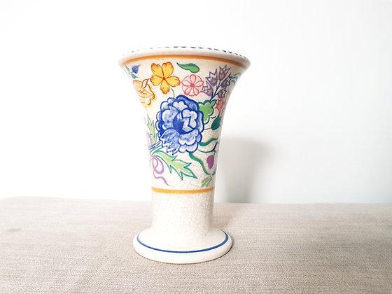 Poole Pottery Myrtle Bond Vase