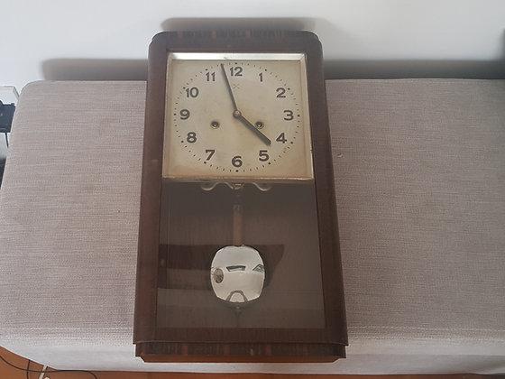 German Art Deco Wall Clock