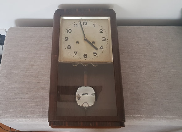 German Art Deco Wall Clock