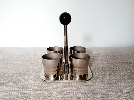 Chrome Plated Egg Cups