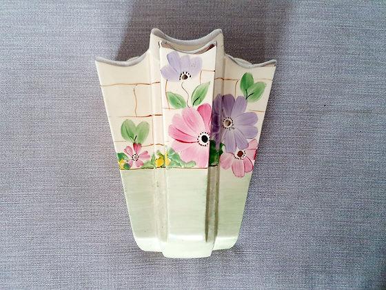 Arthur Wood Floral Wall Pocket